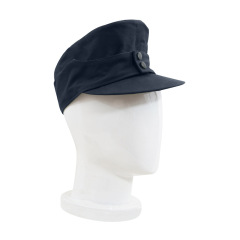 WWII German M43 Luftwaffe EM Summer Field Cap Blue grey