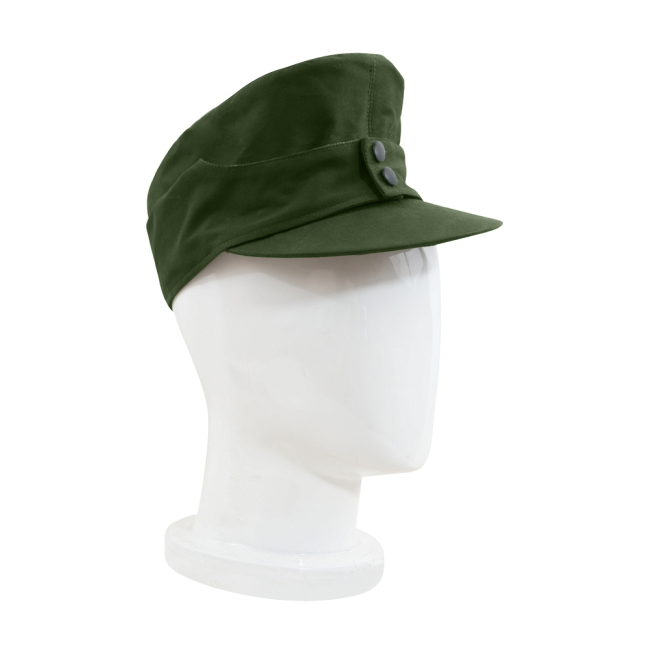 WWII German M43 Tropical/DAK Heer EM Field Cap Olivebrown
