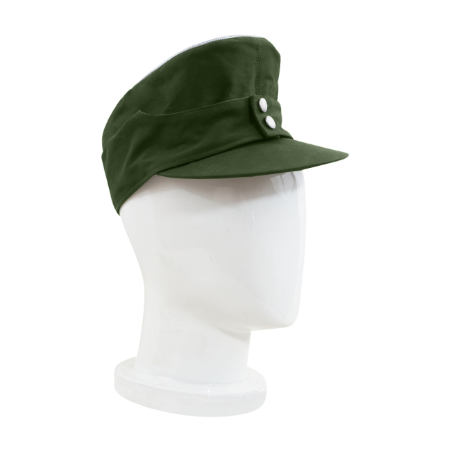 WWII German M43 Tropical/DAK Heer Officer Field Cap Olivebrown