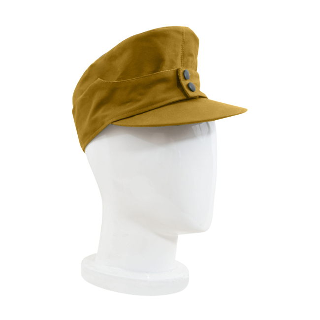 WWII German M43 Tropical/DAK Luftwaffe EM Field Cap Sand