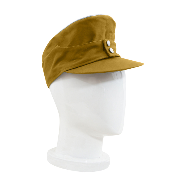 WWII German M43 Tropical/DAK Luftwaffe Officer Field Cap Sand