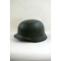 WWII German M35 Helmet Stahlhelm field grey