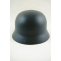 WWII German M35 Helmet Stahlhelm luftwaffe blue
