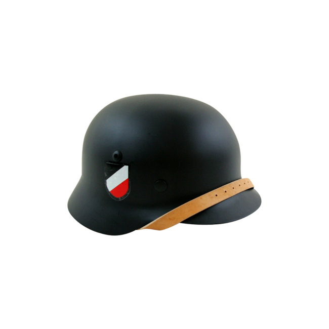 WWII German M35 Helmet Stahlhelm black