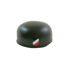 WWII German M38 Helmet Stahlhelm Apple green