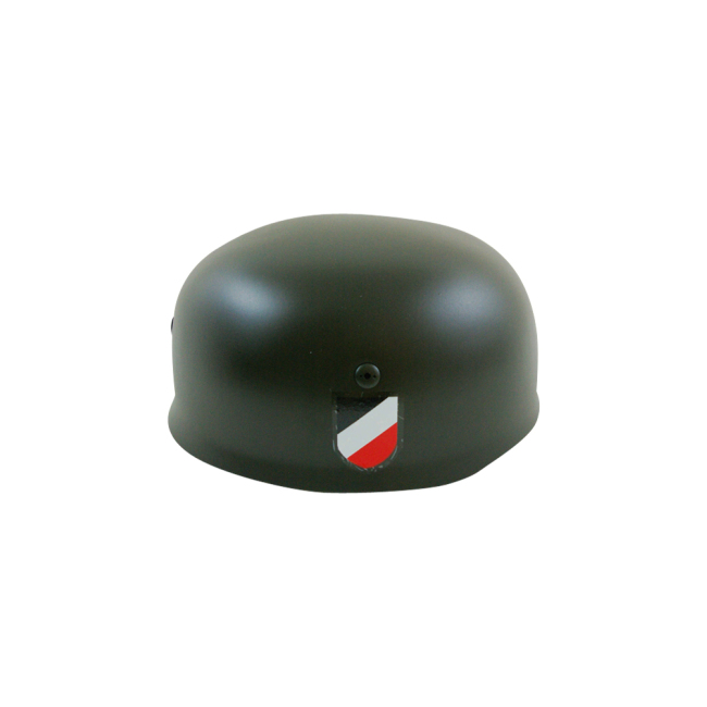 WWII German M38 Helmet Stahlhelm Apple green