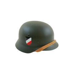 WWII German M40 Helmet Stahlhelm field grey