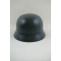 WWII German M40 Helmet Stahlhelm luftwaffe blue