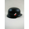 WWII German M40 Helmet Stahlhelm Black