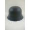 WWII German M42 Helmet Stahlhelm luftwaffe blue