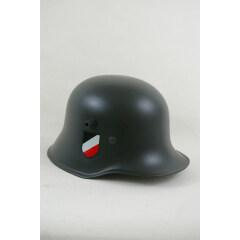 WWII German M1918 Helmet Stahlhelm field grey