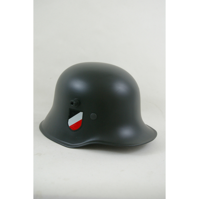WWII German M1918 Helmet Stahlhelm field grey