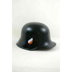 WWII German M1918 Helmet Stahlhelm black