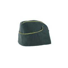 WWII German M38 General summer reed green HBT overseas cap