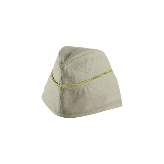WWII German M40 General summer off white HBT overseas cap