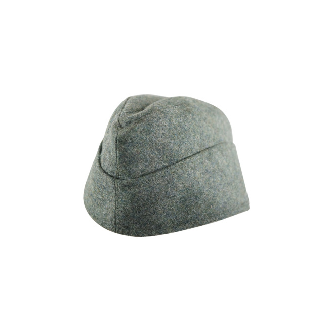 WWII German M40 EM overseas cap field grey