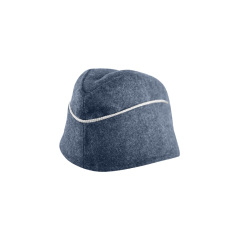 WWII German M40 Luftwaffe Officer overseas cap blue grey