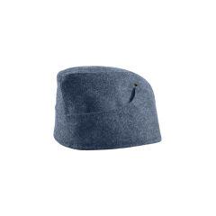 WWII German M38 Luftwaffe EM overseas cap blue grey