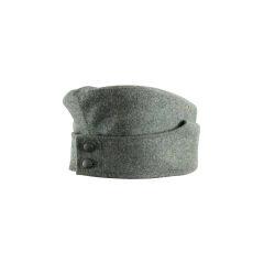 WWII German M42 EM overseas cap field grey