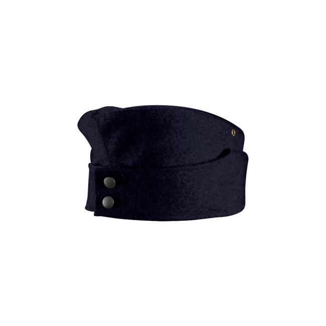 WWII German M42 Kriegsmarine EM overseas cap Navy blue