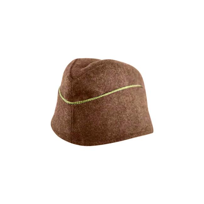 WWII German M40 Politic General overseas cap brown