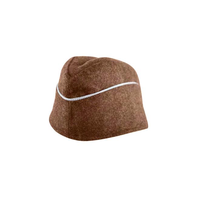 WWII German M40 Politic Officer overseas cap brown