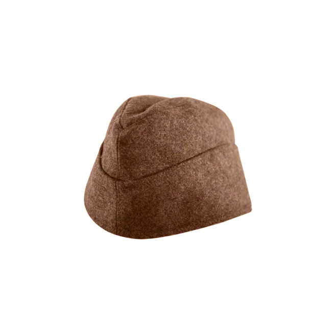 WWII German M40 Politic EM overseas cap brown