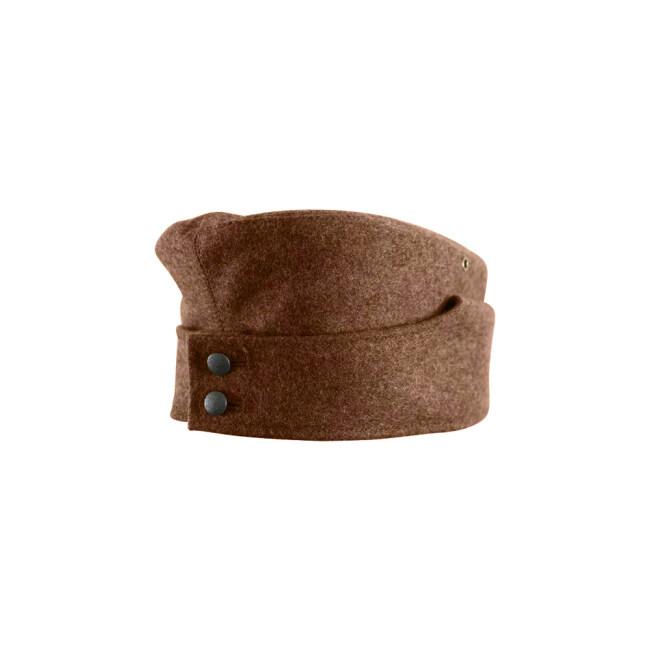 WWII German M42 Politic EM overseas cap brown