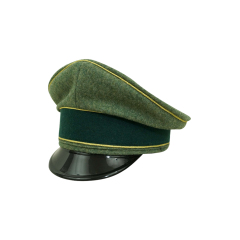 WWII German Heer General Wool visor cap
