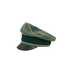 WWII German Heer General Gabardine Crusher visor cap