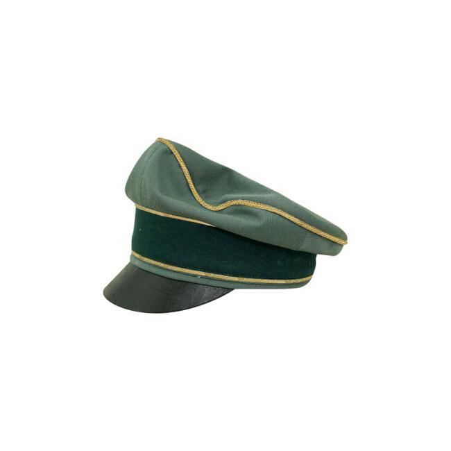 WWII German Heer General Gabardine Crusher visor cap