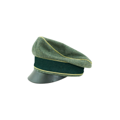 WWII German Heer General Wool Crusher visor cap