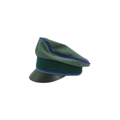 WWII German Heer Gabardine Medical Crusher Visor Cap