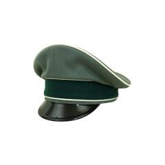 WWII German Heer Infantry officer Gabardine Visor cap