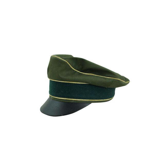 WWII German Afrikakorps Heer general cotton crusher visor cap