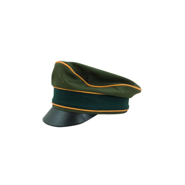 WWII German Afrikakorps Heer Cavalry / Recon cotton crusher visor cap