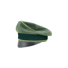 WWII German Heer General Wool Crusher Cap Small Visor