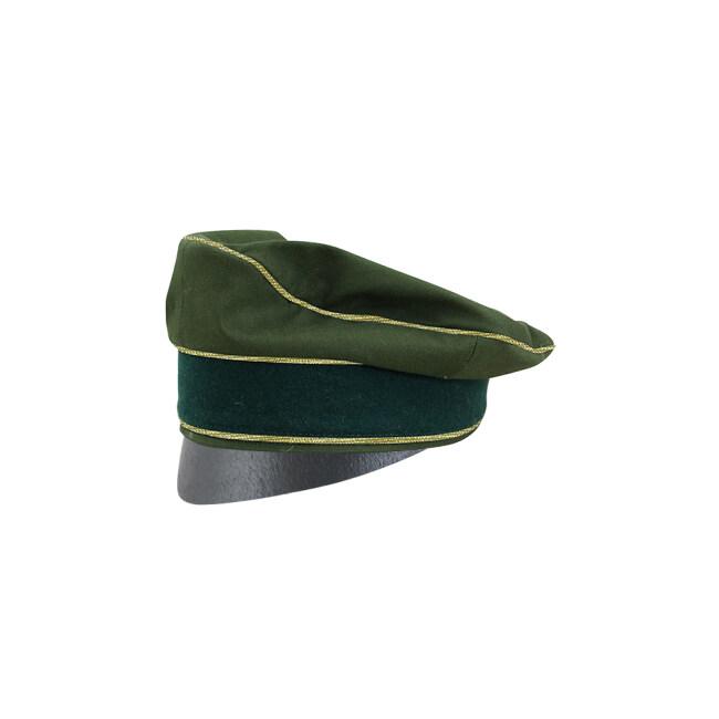 WWII German Afrikakorps Heer General cotton Crusher Cap Small Visor