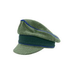WWII German Heer M37 Wool Medical Crusher Visor Cap