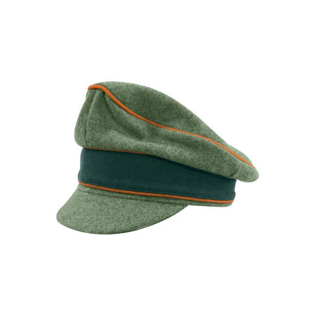 WWII German Heer M37 Wool Field Police Crusher Visor Cap