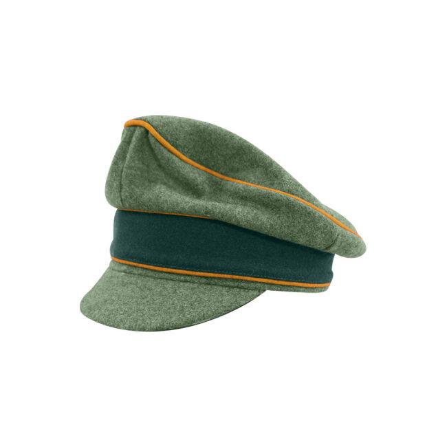 WWII German Heer M37 Wool Cavalry / Recon Crusher Visor Cap