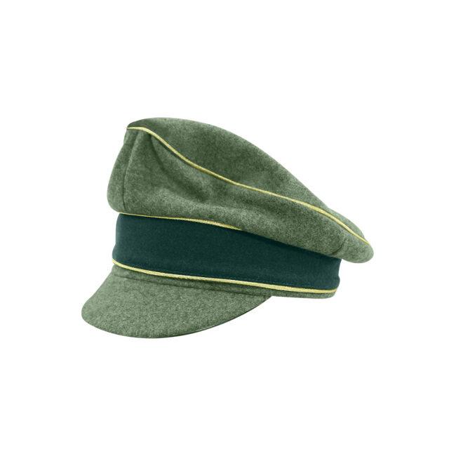 WWII German Heer M37 Wool General Crusher Visor Cap