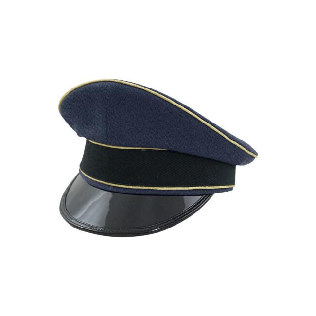 WWII German Luftwaffe General blue Gabardine Visor cap