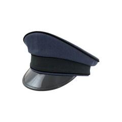 WWII German Luftwaffe Air Ministry blue Gabardine Visor cap