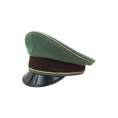 WWII German Police General Gabardine Visor cap
