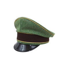 WWII German Police General Wool Visor cap