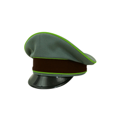 WWII German National Police Officer Gabardine Visor cap