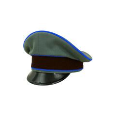 WWII German Geheime Feldpolice Officer Gabardine Visor cap