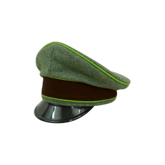 WWII German National Police Officer Wool Visor cap
