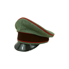 WWII German Fire Protection Police Officer Wool Visor cap